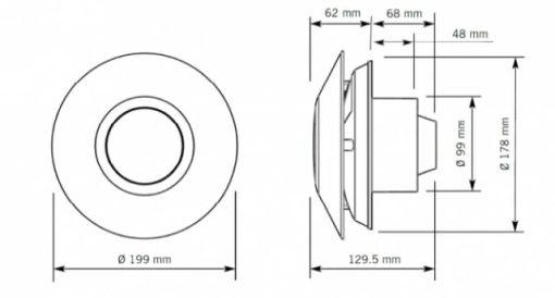 kupelnovy ventilator ZCV2 4