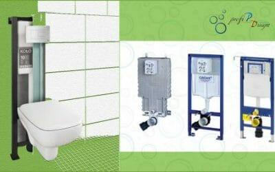 Montáž závesného WC