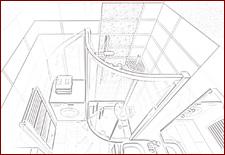 Návrh kúpeľne a interiéru