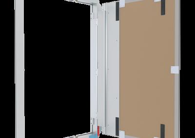revizne dvierka do stupacky RD AL profidizajn